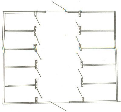 تصميم حقول البان أسس تصميم إسطبل عجول هندسة إنشائية زراعية مباني اسطبلات